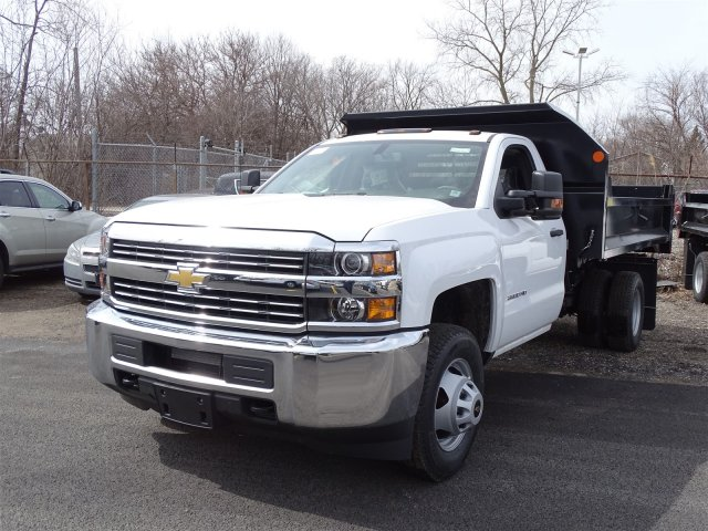 2018 Silverado 3500 Regular Cab DRW,  Monroe Dump Body #65306 - photo 3