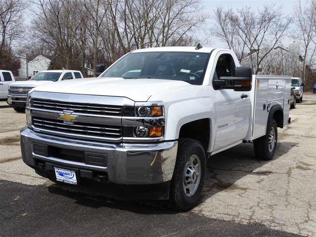 2018 Silverado 2500 Regular Cab 4x4,  Monroe Service Body #65343 - photo 3