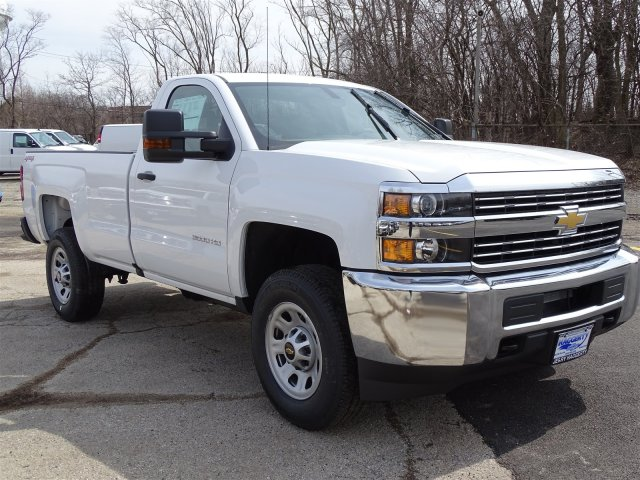 2018 Silverado 3500 Regular Cab 4x4, Pickup #65390 - photo 5