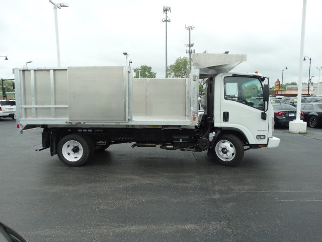 2018 LCF 4500 Regular Cab 4x2,  Monroe MTE-Zee Landscape Dump #65426 - photo 9
