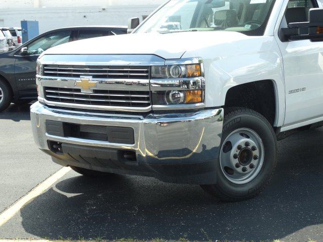 2018 Silverado 3500 Crew Cab DRW 4x2,  Rugby Eliminator LP Steel Dump Body #65570 - photo 3