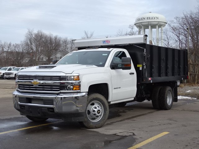 2018 Silverado 3500 Regular Cab DRW 4x4,  Monroe Poly Landscape Dump #65681 - photo 15