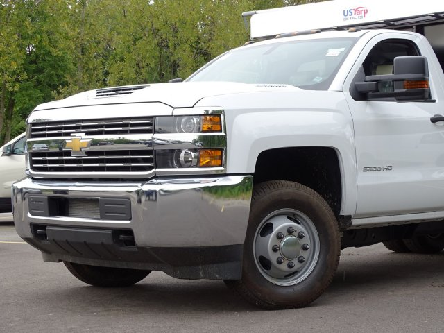 2018 Silverado 3500 Regular Cab DRW 4x4,  Monroe Poly Landscape Dump #65681 - photo 3