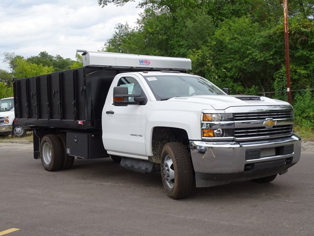 2018 Silverado 3500 Regular Cab DRW 4x4,  Monroe Poly Landscape Dump #65681 - photo 5
