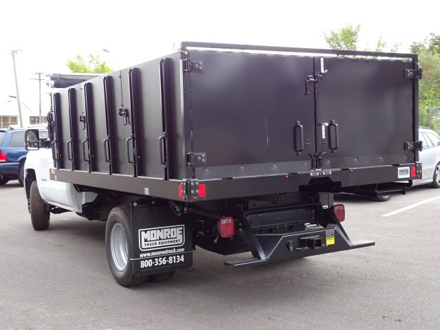 2018 Silverado 3500 Regular Cab DRW 4x4,  Monroe Poly Landscape Dump #65681 - photo 2