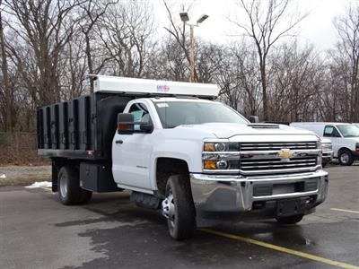 2018 Silverado 3500 Regular Cab DRW 4x4,  Monroe Poly Landscape Dump #65681 - photo 16