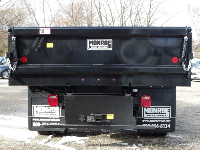 2019 Silverado 3500 Regular Cab DRW 4x4,  Monroe MTE-Zee Dump Body #66171 - photo 4