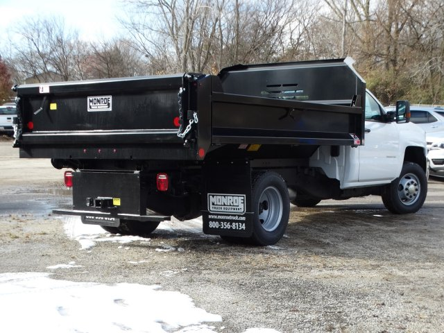 2019 Silverado 3500 Regular Cab DRW 4x4,  Monroe MTE-Zee Dump Body #66171 - photo 5