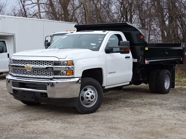 2019 Silverado 3500 Regular Cab DRW 4x4,  Monroe MTE-Zee Dump Body #66171 - photo 1