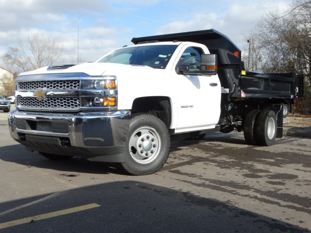2019 Silverado 3500 Regular Cab DRW 4x4,  Monroe MTE-Zee Dump Body #66172 - photo 1