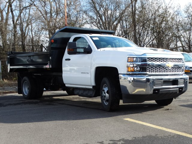 2019 Silverado 3500 Regular Cab DRW 4x4,  Monroe MTE-Zee Dump Body #66172 - photo 5