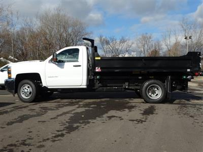 2019 Silverado 3500 Regular Cab DRW 4x4,  Monroe MTE-Zee Dump Body #66172 - photo 3