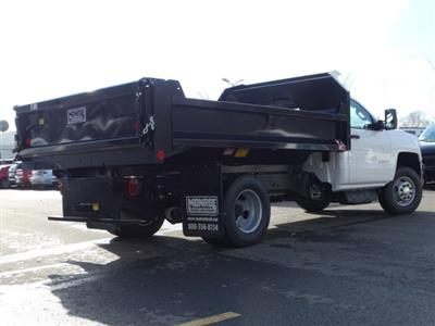2019 Silverado 3500 Regular Cab DRW 4x4,  Monroe MTE-Zee Dump Body #66172 - photo 2