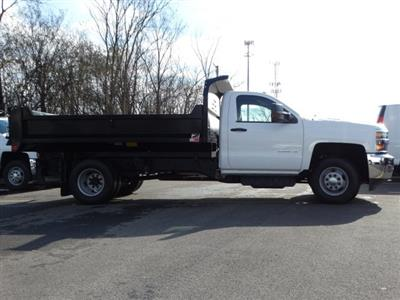 2019 Silverado 3500 Regular Cab DRW 4x4,  Monroe MTE-Zee Dump Body #66172 - photo 6