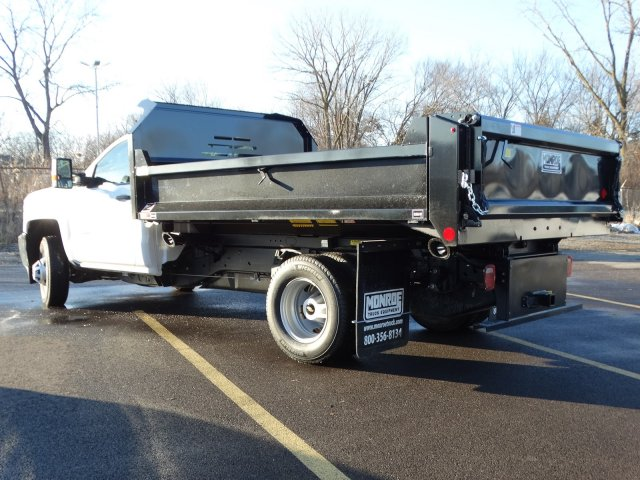 2019 Silverado 3500 Regular Cab DRW 4x2,  Monroe Dump Body #66282 - photo 3