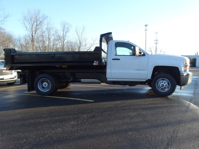 2019 Silverado 3500 Regular Cab DRW 4x2,  Monroe Dump Body #66282 - photo 14