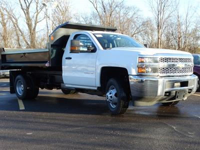 2019 Silverado 3500 Regular Cab DRW 4x2,  Monroe MTE-Zee Dump Body #66282 - photo 5