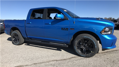 2018 Ram 1500 Crew Cab 4x4, Pickup #C8636 - photo 3
