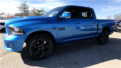 2018 Ram 1500 Crew Cab 4x4, Pickup #C8636 - photo 7