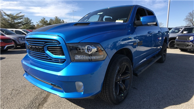 2018 Ram 1500 Crew Cab 4x4, Pickup #C8636 - photo 11