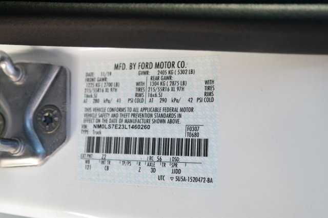 2020 Ford Transit Connect FWD, Empty Cargo Van #00061477 - photo 24