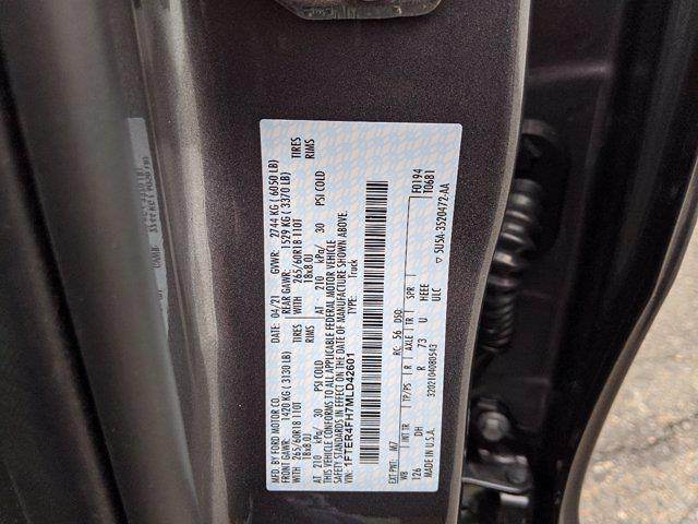2021 Ford Ranger SuperCrew Cab 4x4, Pickup #00063380 - photo 22