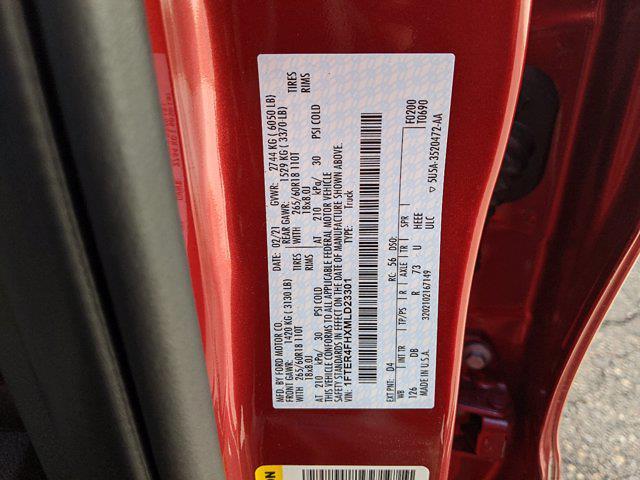2021 Ford Ranger SuperCrew Cab 4x4, Pickup #00063410 - photo 22
