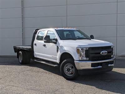 2019 Ford F-350 Crew Cab DRW 4x4, Platform Body #000P8285 - photo 1