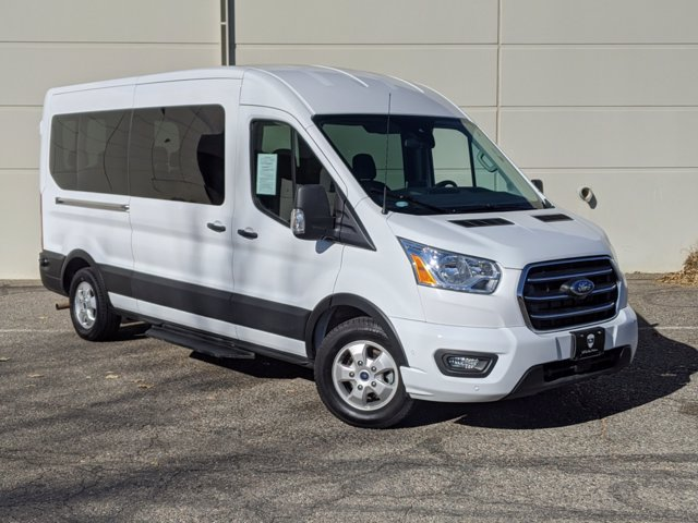2020 Ford Transit 350 Med Roof 4x2, Passenger Wagon #000P8389 - photo 1