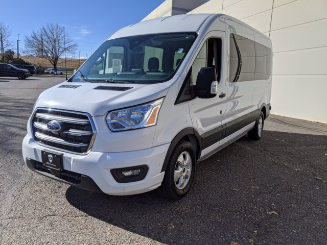 2020 Ford Transit 350 Med Roof 4x2, Passenger Wagon #000P8389 - photo 8