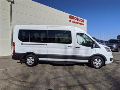 2020 Ford Transit 350 Med Roof 4x2, Passenger Wagon #000P8389 - photo 4