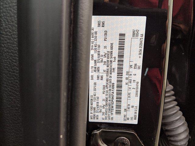2019 Ford F-150 SuperCrew Cab 4x4, Pickup #000P8633 - photo 21