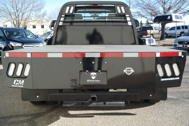 2019 F-350 Regular Cab DRW 4x4,  CM Truck Beds Platform Body #59860 - photo 4