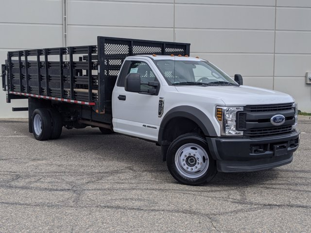 2018 Ford F-450 Regular Cab DRW 4x4, Stake Bed #P8092 - photo 1