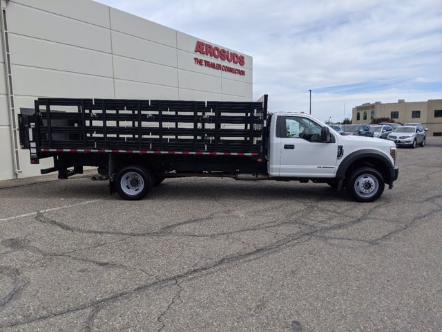 2018 Ford F-450 Regular Cab DRW 4x4, Stake Bed #P8092 - photo 4