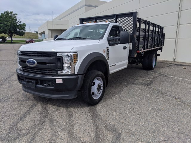 2018 Ford F-450 Regular Cab DRW 4x4, Stake Bed #P8092 - photo 7