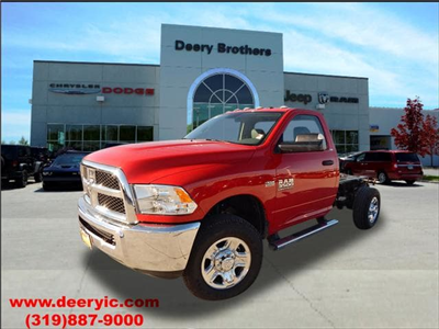 2017 Ram 3500 Regular Cab 4x4, Cab Chassis #DT1837 - photo 1
