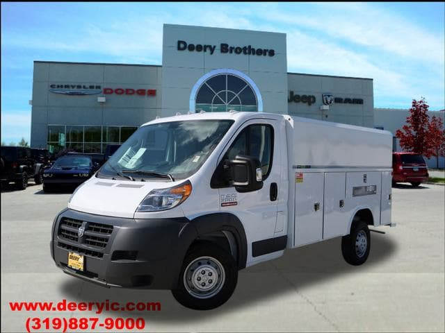2017 ProMaster 3500, Reading Aluminum CSV Service Utility Van #DT2199 - photo 1