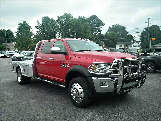 2018 Ram 4500 Crew Cab DRW 4x4,  CM Truck Beds Platform Body #C18574 - photo 11