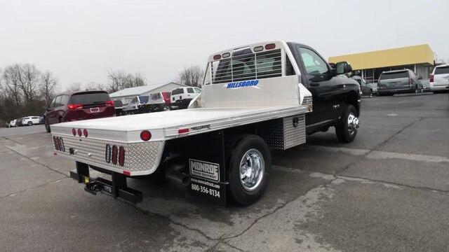 2019 Ram 3500 Regular Cab DRW 4x4, Hillsboro Platform Body #C19498 - photo 8