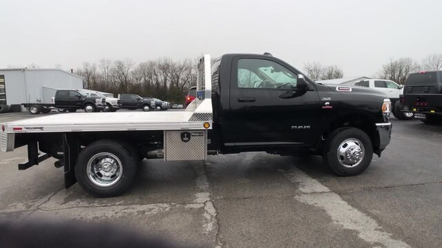 2019 Ram 3500 Regular Cab DRW 4x4, Hillsboro Platform Body #C19498 - photo 9