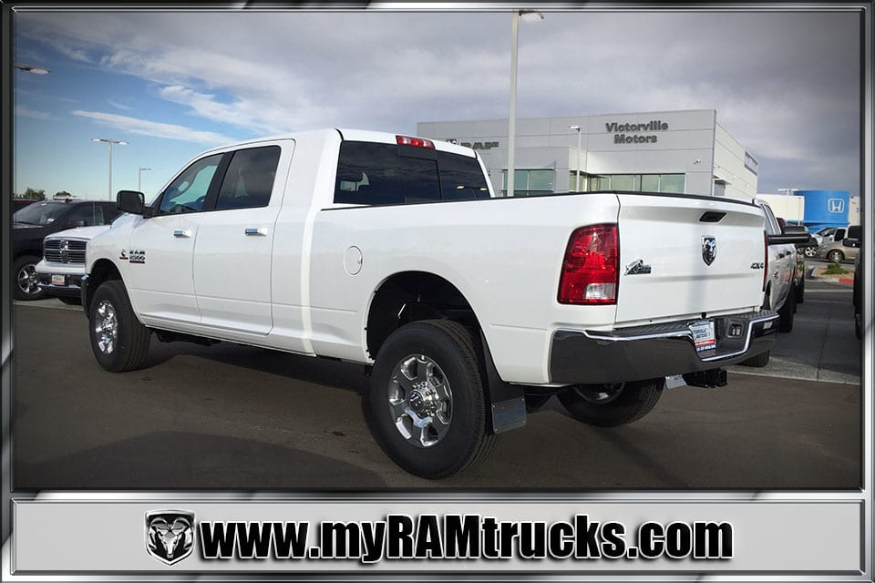 2018 Ram 2500 Mega Cab 4x4 Pickup #8T3024 - photo 2