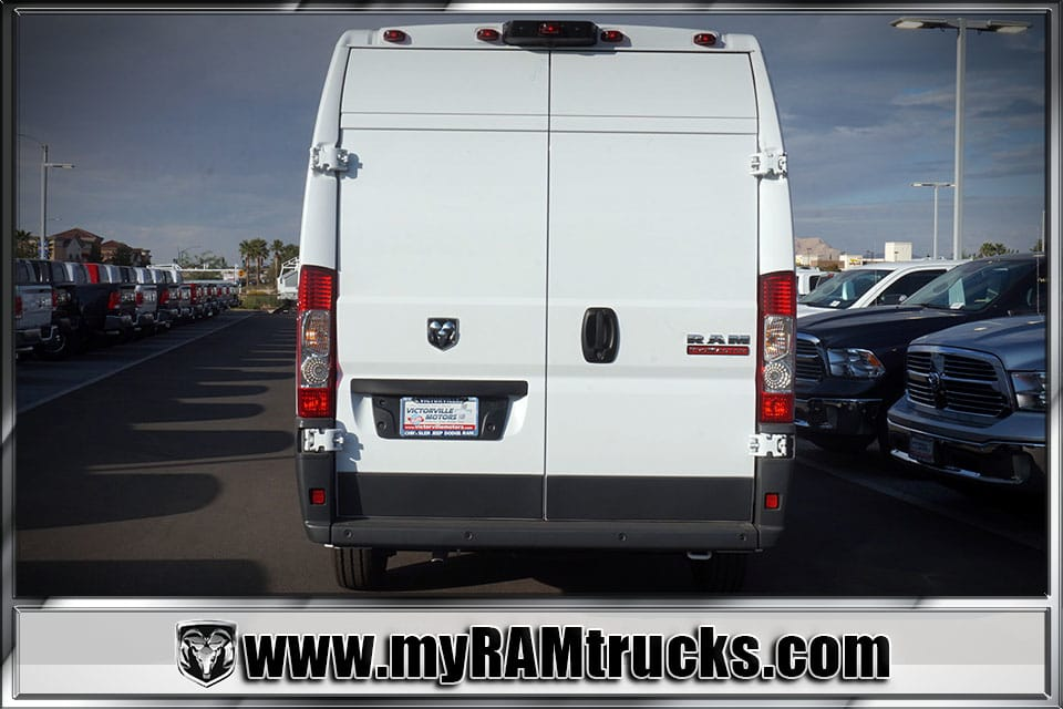 2018 ProMaster 3500 High Roof,  Empty Cargo Van #8T6014 - photo 6