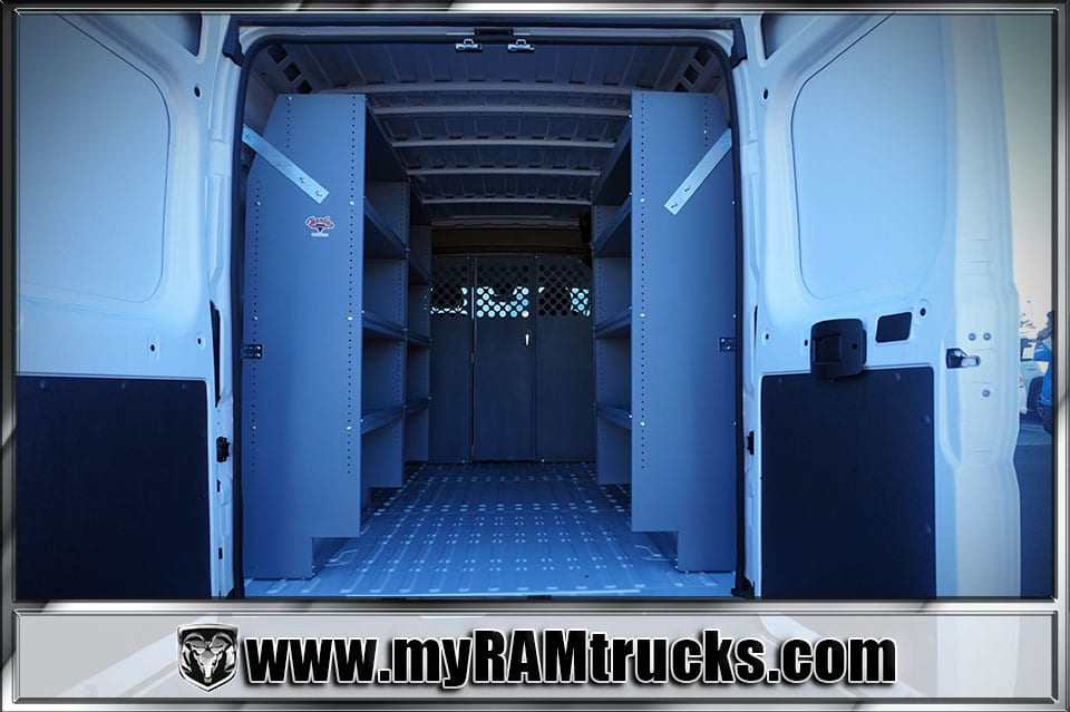 2018 ProMaster 2500 High Roof,  Harbor Upfitted Cargo Van #8T6020 - photo 2