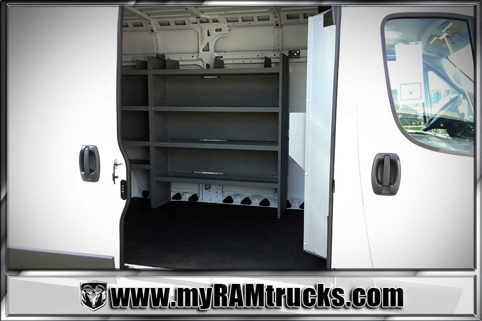 2018 ProMaster 3500 High Roof,  Kargo Master Upfitted Cargo Van #8T6028 - photo 23