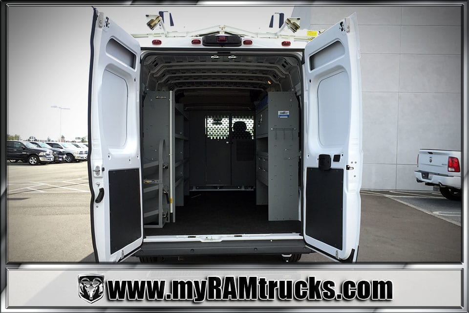 2018 ProMaster 3500 High Roof,  Kargo Master Upfitted Cargo Van #8T6028 - photo 2