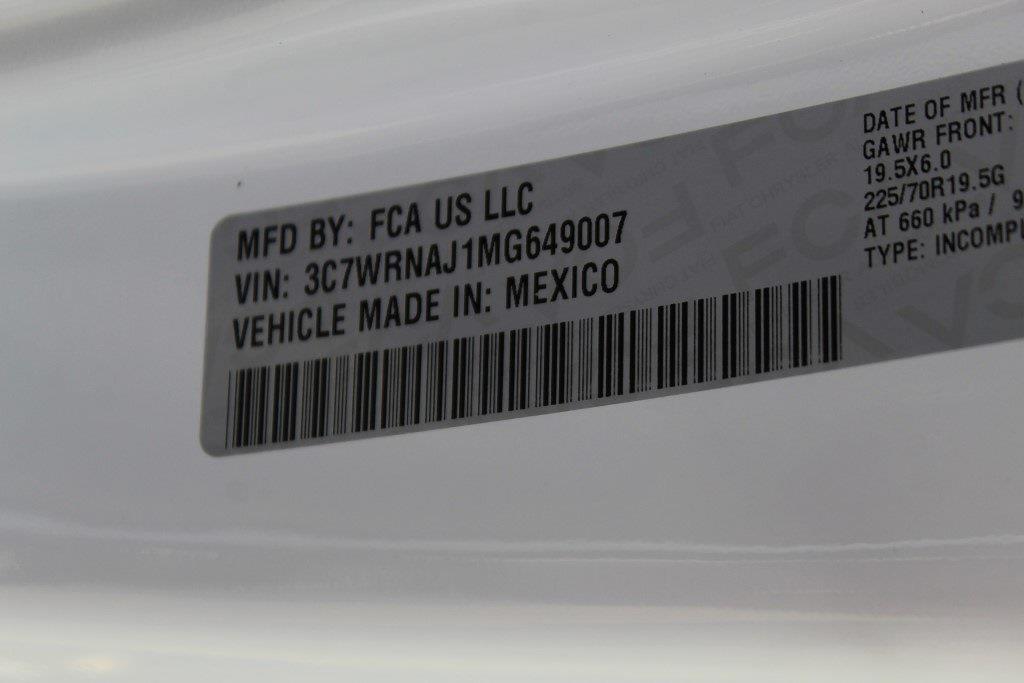 2021 Ram 5500 Regular Cab DRW 4x4,  Cab Chassis #1U9059 - photo 21