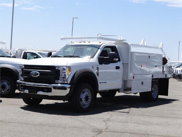 2017 F-450 Regular Cab DRW, Scelzi Contractor Flatbed Contractor Body #FH4219 - photo 1