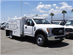2017 F-450 Regular Cab DRW, Scelzi Contractor Flatbed Contractor Body #FH4219 - photo 6