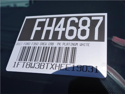 2017 F-350 Crew Cab 4x4, Pickup #FH4687 - photo 10